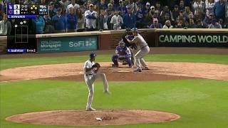 Yu Darvish RBI Walk vs Cubs | Dodgers vs Cubs Game 3 NLCS