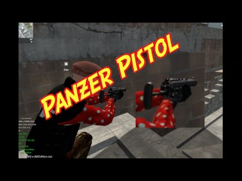 Red Crucible Firestorm : Panzer Pistol/gameplay