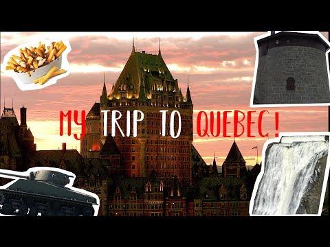 MY TRIP TO QUEBEC CITY!!!