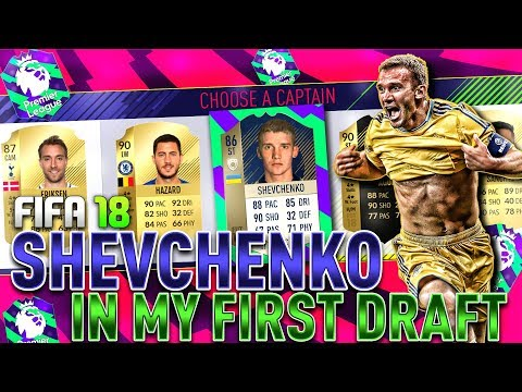 OMG SHEVCHENKO IN MY FIRST DRAFT! | FIFA 18 Ultimate Team Fut Draft