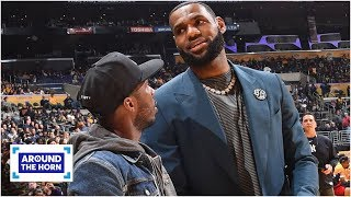LeBron James is defending Rich Paul, not himself, from critics - Ramona Shelburne | Around the Horn