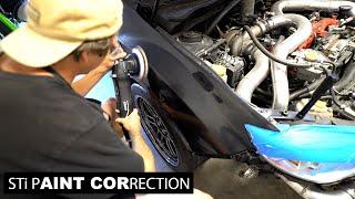 homepage tile video photo for STI - Racecar Paint Correction (Part 2)
