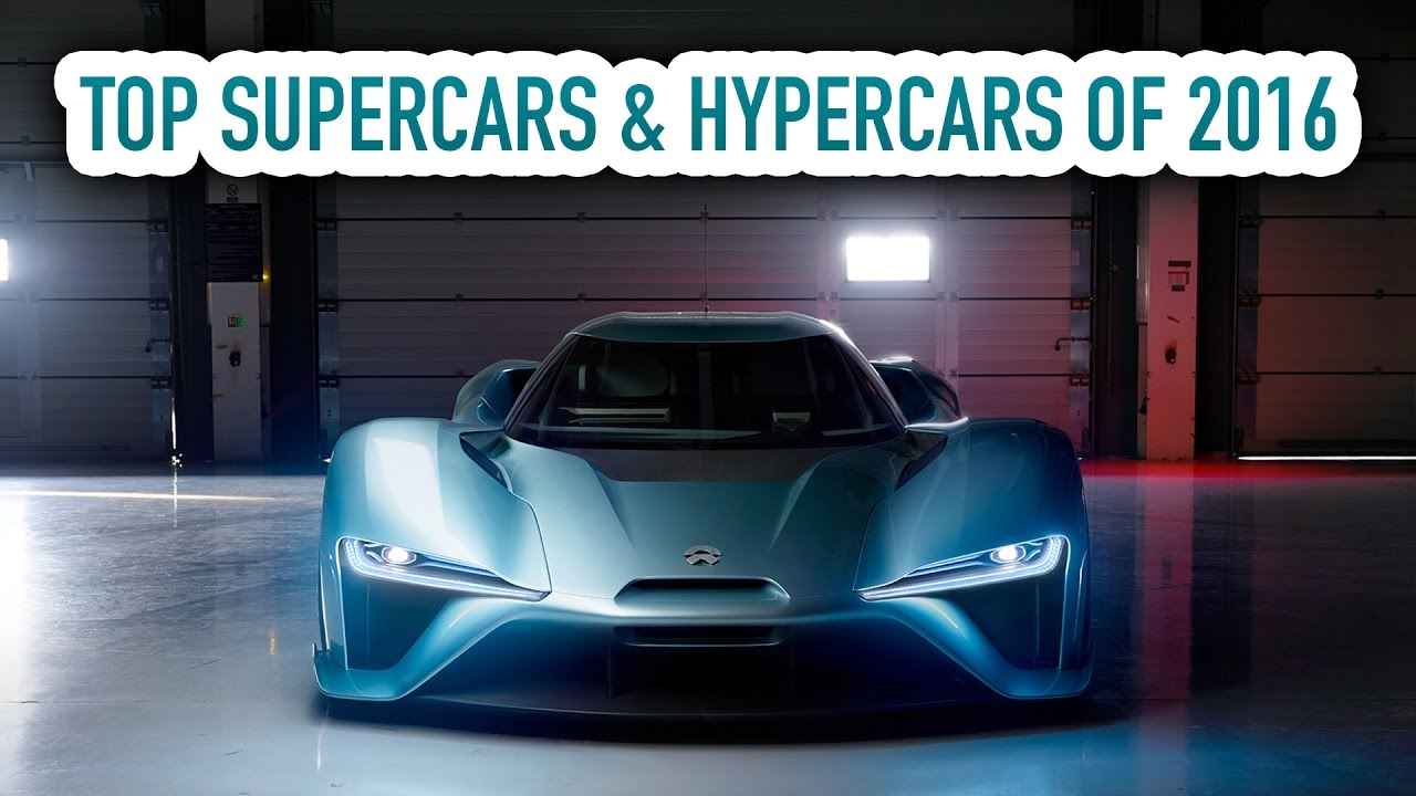Top Supercars Hypercars Of Youtube