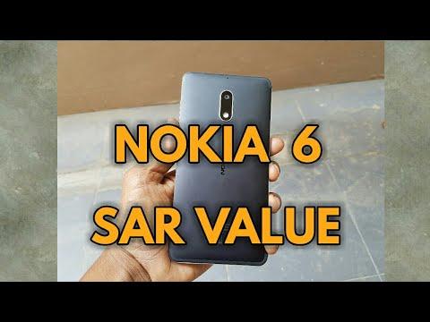 NOKIA 6 SAR VALUE