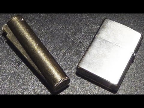 Zippo Windproof Lighter VS Clipper Petrol Lighter