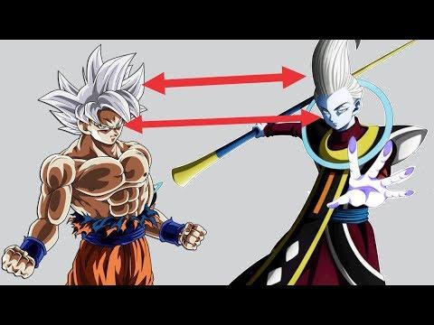 La Extraña relación entre los Ángeles y el Migatte no Gokui - Dragon Ball Super