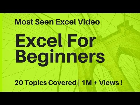 Learn Basic Excel Skills For Beginners