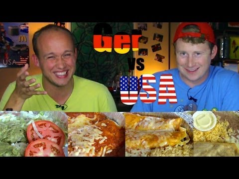 Mexican Food - Germany vs USA
