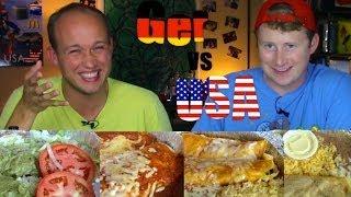 Mexican Food - Germany vs USA