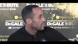 JAMES DeGALE - 'IM GOING IN HAGLER STYLE!!! SEEK & DESTROY'  -DeGALE v BUTE