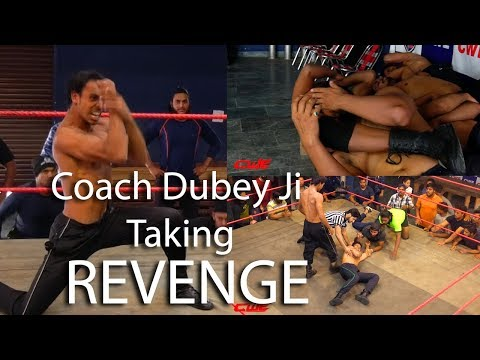 CWE |Mr.Dubey Singham Knockout 5 peoples during training