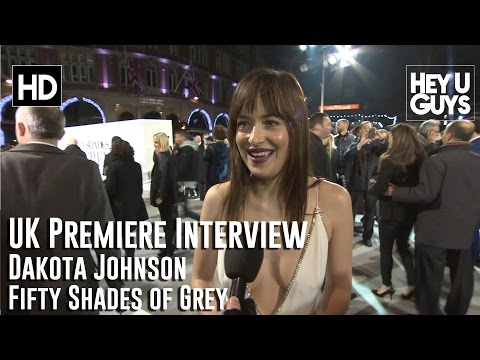 Dakota Johnson Interview - Fifty Shades of Grey UK Premiere