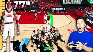 "CAN 9 5'4"" CENTERS STOP MY 7'7"" POINT GUARD FROM SCORING!? (GAME BREAKING) - NBA 2K19"