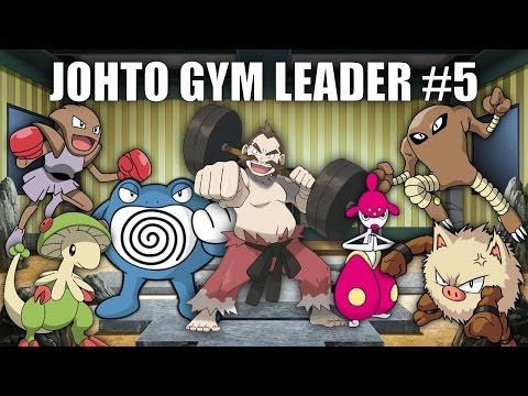 Johto Gym Leader #5 (Chuck) - Pokemon Battle Revolution (1080p 60fps)