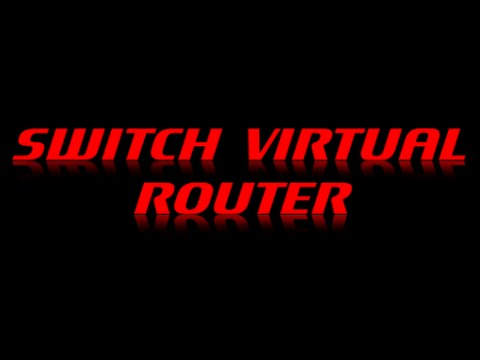 Как настроить Switch Virtual Router
