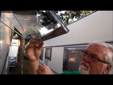 Motorhome Window security without drilling
