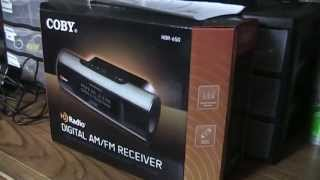 Coby HDR-650 HD Radio / AM Stereo tuner review