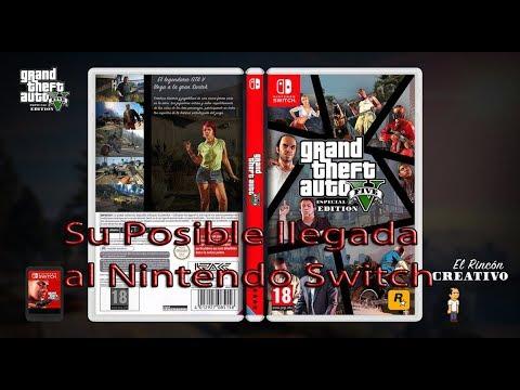 Grand Theft Auto V Posiblemente Llegara Al Nintendo Switch Loquendo