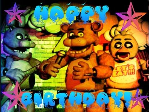 five nights at freddy birthday Happy Birthday, 5 Nights At Freddy's! (Reuploaded)   YouTube five nights at freddy birthday