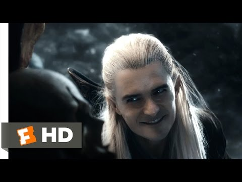 The Hobbit: The Battle Of The Five Armies - Legolas's Rampage Scene (8/10)   Movieclips