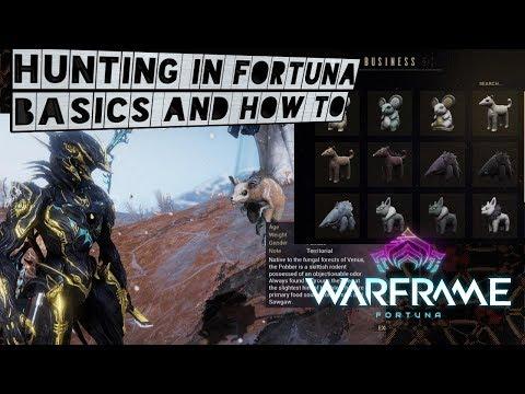 Warframe How to Hunt! Get Floofs!