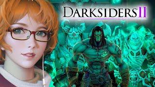 Злая Лисичка против босса, кто сдастся первый) | Darksiders II #10