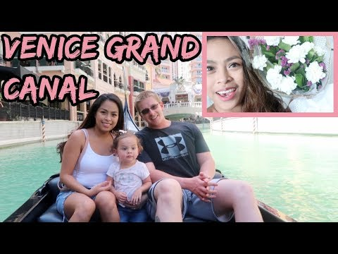 Filipina British Family: MASAYANG ARAW | SA VENICE GRAND CANAL MALL | TheMcQueens
