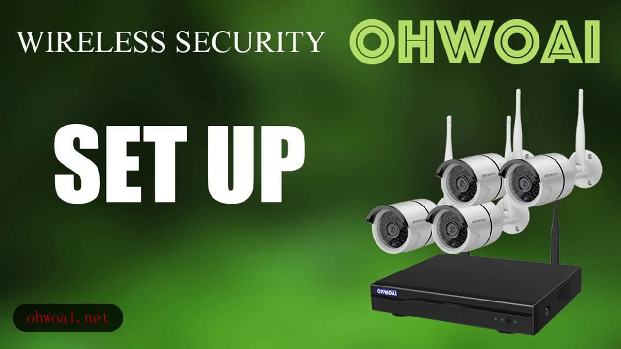 Repeat OHWOAI Surveilliance Camera System: Camera Set Up by