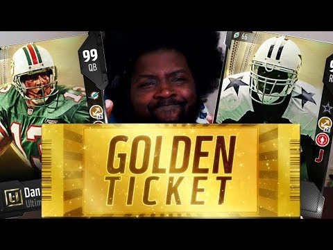 We Pulling The Rarest Card In Madden's History   Golden Ticket Hunt W/ Texas