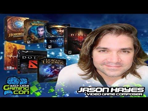 2017 Salt Lake Gamers Con | Jason Hayes Panel - Music Composer