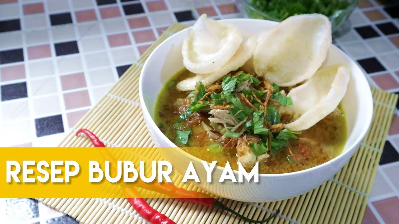 Resep Bubur Ayam Ala Dapur Adis Enak Nya Nagihin D Indonesian Chicken Rice Porridge