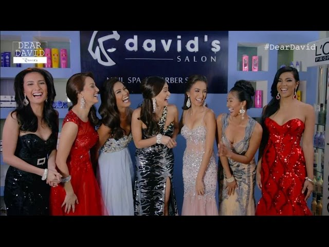 Dear David by David's Salon, Episode 1: Hair and Makeup with the Bb. Pilipinas 2015 Queens | normannorman.com