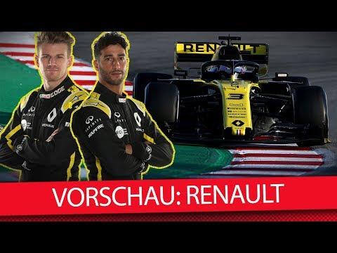 Renault: Hülkenberg vs. Ricciardo - Formel-1-Saisonvorschau 2019 (News)