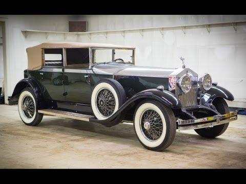 1929 Rolls Royce Phantom I Newmarket  YouTube