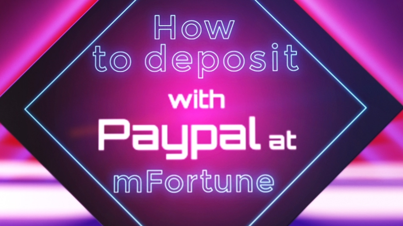 Mobile slots with paypal