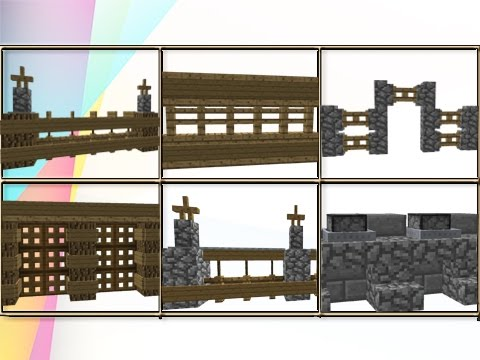 35 Minecraft Fence Wall Design Ideas Amp Tricks Youtube