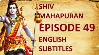 Shiv Mahapuran with English Subtitles - Shiv Mahapuran Episode 49 I Bhasmasur Vadh Mohini & Krishna Darshan Avataar