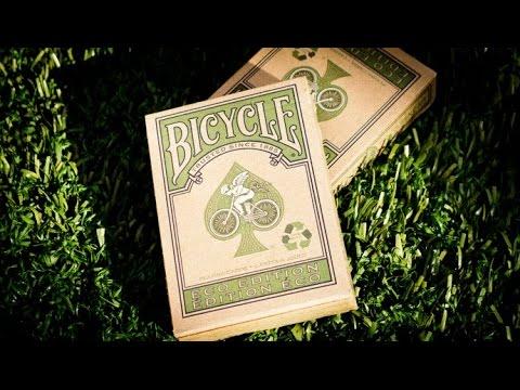 Обзор колоды Bicycle Eco // Deck Review (ОБУЧЕНИЕ ФОКУСАМ)