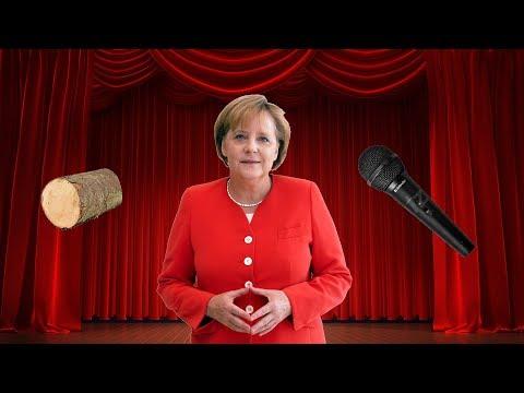 """Merkel singt """"Ich und mein Holz"""