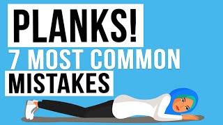 Senaman Planks: 7 Kesalahan Anda Perlu Elak