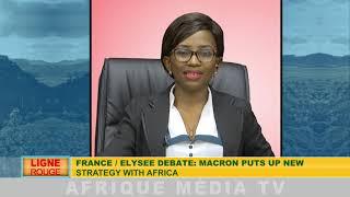 FRANCE/DÉBAT A L'ÉLISÉE: EMMANUEL MACRON POUR UNE NOUVELLE POLITIQUE FRANÇAISE EN AFRIQUE
