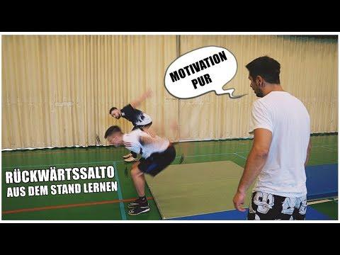 RÜCKWÄRTSSALTO aus dem STAND | Motivationsvideo #1 | Ksfreakwhatelse