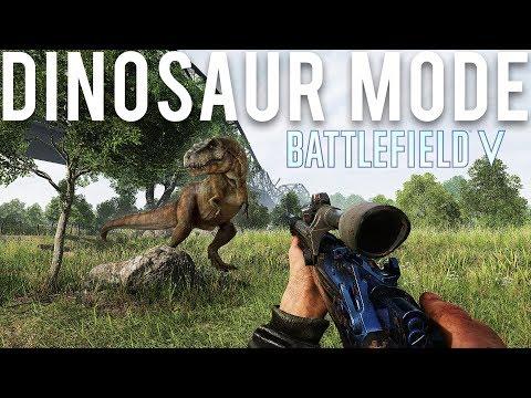 Battlefield actually getting a Dinosaur mode?