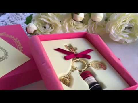Laduree Key Charm Unboxing And Review