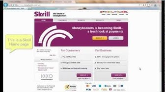 Sign up and send money via Skrill (Moneybookers)