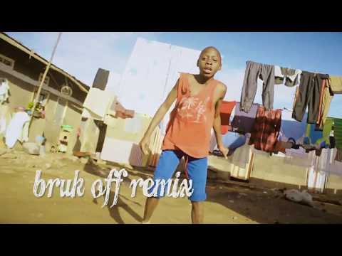 Konshens x Chris Brown-Bruk Off Yuh Back(African Ghetto Kids Dance) thumbnail