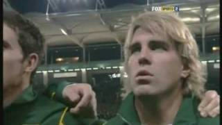 Disgracing the South African National Anthem - Springboks vs France in Toulouse