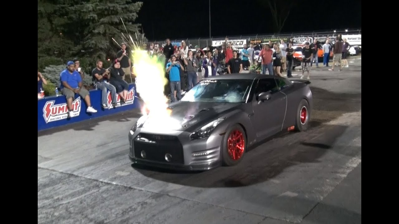 You've Never Seen A GTR Like This! 2100HP - YouTube