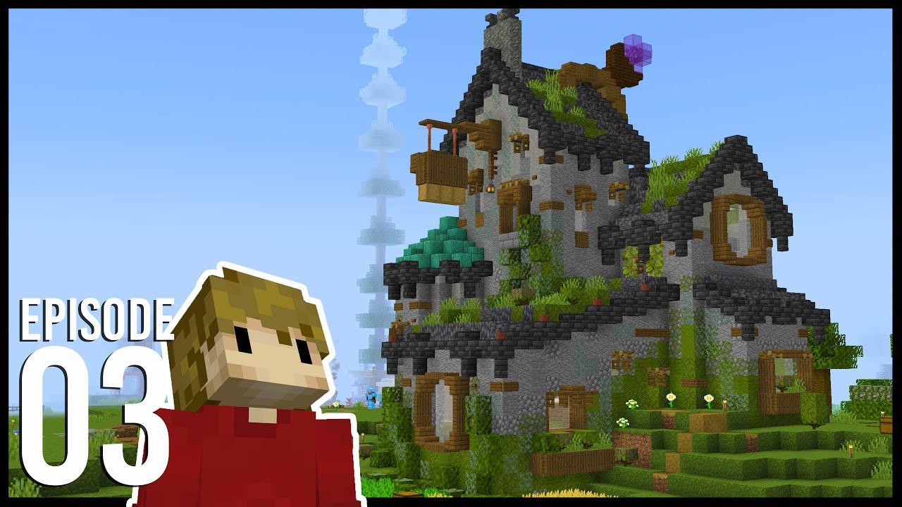 Hermitcraft 8: Episode 3 - BASE PROGRESS!