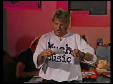 Steve Anthony - My FIRST day on air on MuchMusic